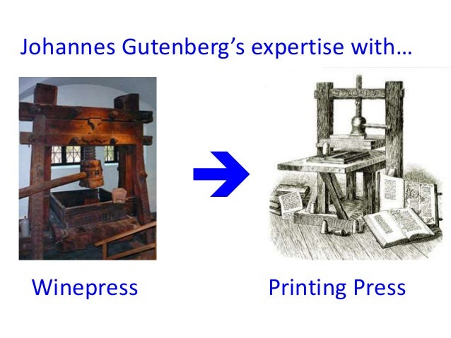 essay on the printing press Essay/paper sample on a given topic most important consequence of the  printing press.