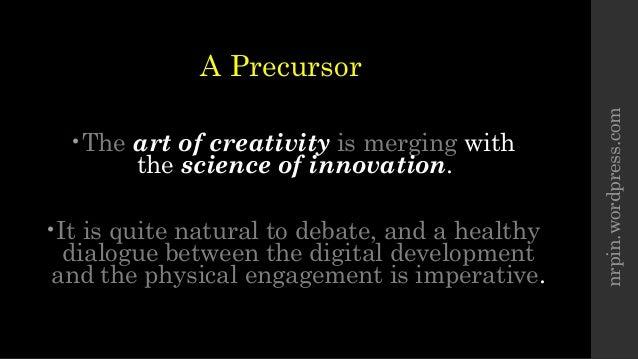 Digital Dialogue - Creativity vs. Innovation Slide 2