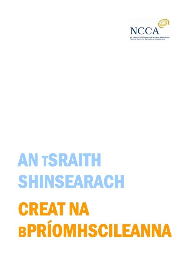 AN TSRAITH SHINSEARACH CREAT NA BPRÍOMHSCILEANNA