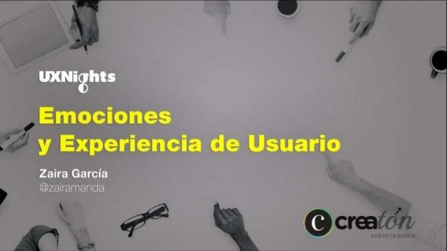 Diseño emocional/sensorial: uso de técnicas psicológicas para UX y UI. Experiencia sensorial Experiencia emocional Atajos ...