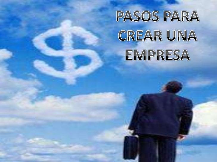 Crea tu empresa