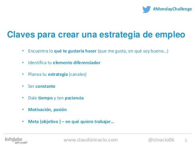 Crea tu puesto de trabajo por Claudio Inacio en infojobs Slide 2