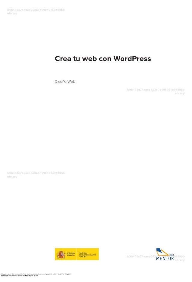 Crea tu web_con_word_press Slide 3