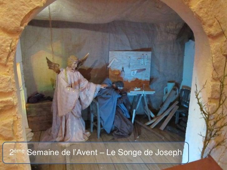 2ème Semaine de l'Avent – Le Songe de Joseph