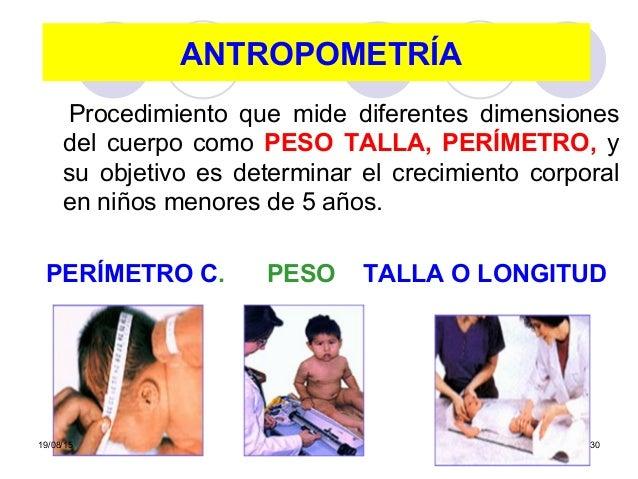 Crecimiento del ni o for Cuales son medidas antropometricas