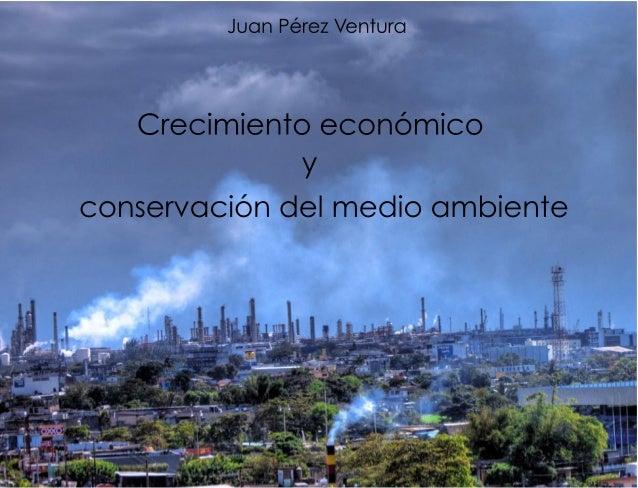 Crecimiento economicomedioambiente