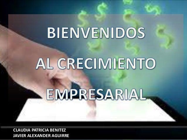 CLAUDIA PATRICIA BENITEZ JAVIER ALEXANDER AGUIRRE