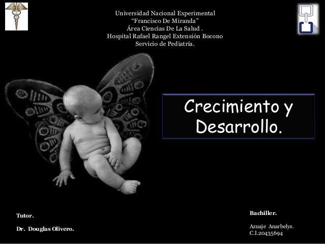 """Universidad Nacional Experimental """"Francisco De Miranda"""" Área Ciencias De La Salud . Hospital Rafael Rangel Extensión Boco..."""