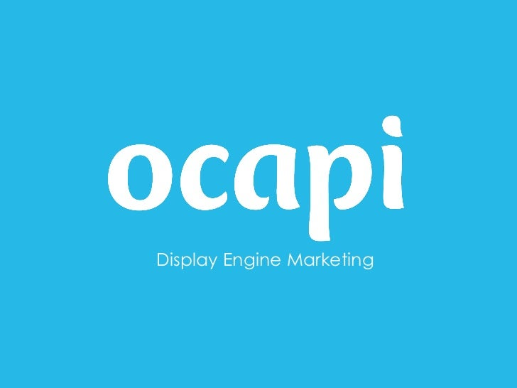 Display Engine Marketing