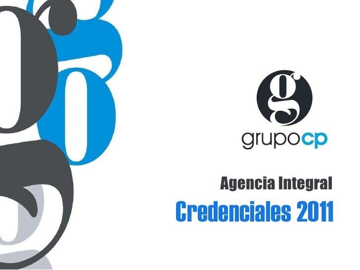 Credenciales 2011 Agencia Integral