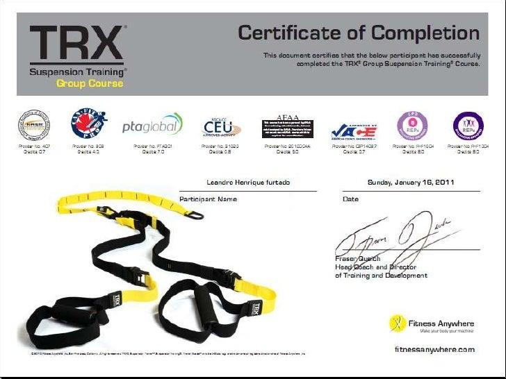 Credenciamento aos métodos Core 360 e TRX
