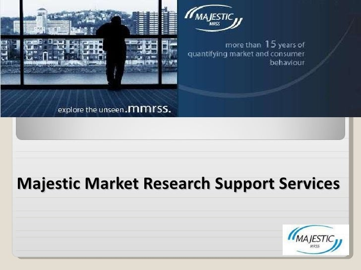 Majestic Market Research   Support Services