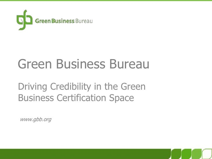 Credibility in Green Business Certification - What to Look For?!