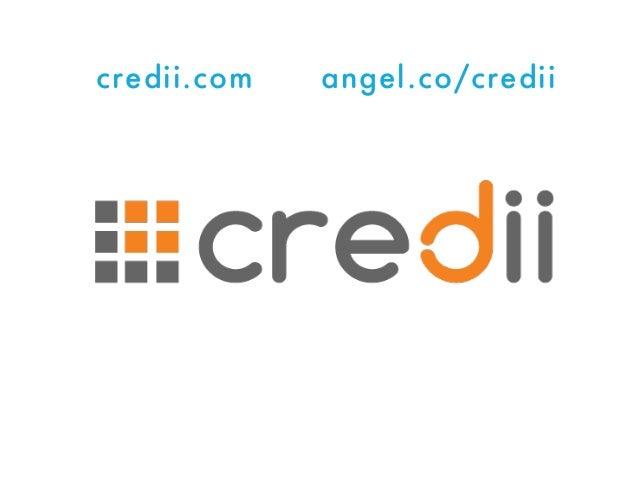 credii.com angel.co/credii