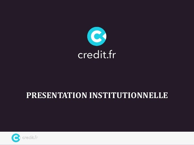 PRESENTATION INSTITUTIONNELLE