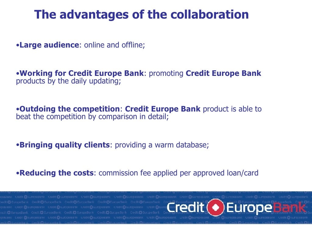 Credit Europe Bank Internet Sale 17 05
