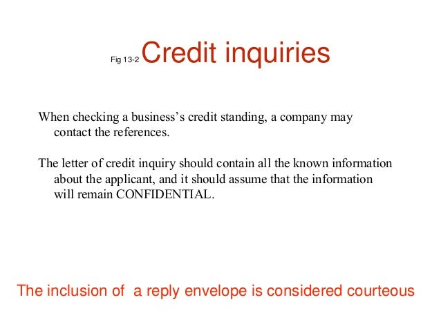 Letter Of Explanation For Credit Inquiry from image.slidesharecdn.com