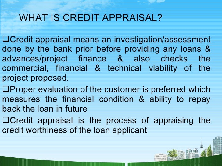 credit appraisal with icici This is a research report on financial project on credit appraisal in banking sector (ppt) by aditi shah in others category banking on the move with icici bank mobile banking iwish from icici bank: a tool to help you achieve your financial goals.