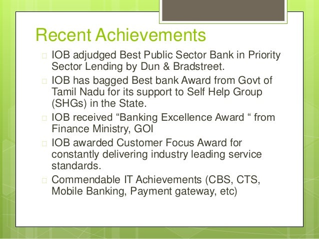 Indian Overseas Bank: Triggering Change Case Study Analysis & Solution