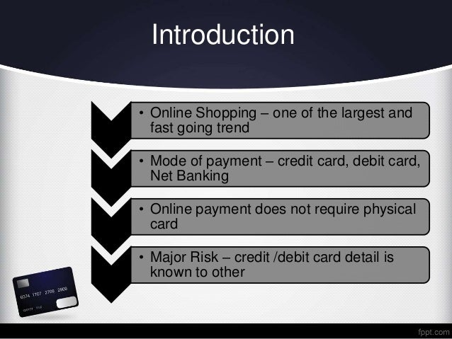 7398c8608 Credit card fraud detection