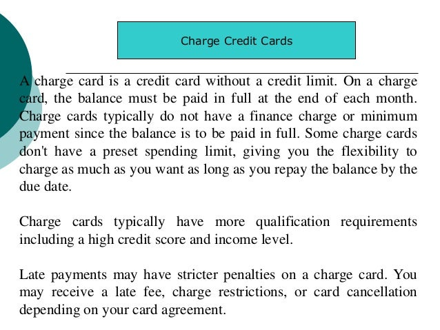 Credit Card Industry Uwsb