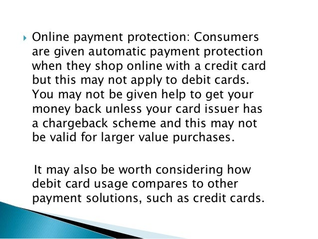 credit card and its effect A credit card allows you to borrow money for spending, up to a pre-set limit the credit limit is set when you open your account, but you can apply to change it.