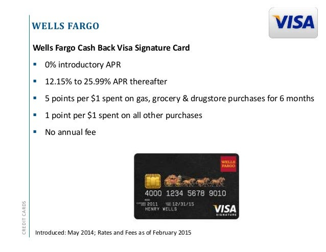 Credit Card Product Update: 2014 Overview