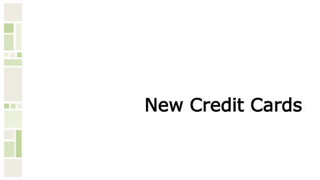 credit card product update