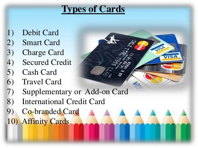 types of bank cards wiki