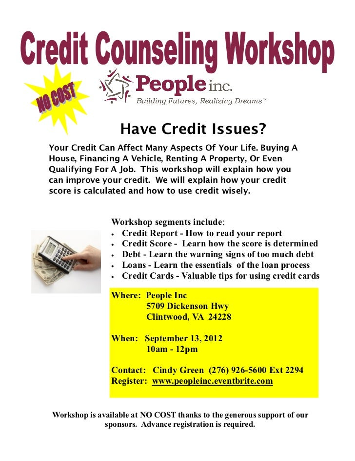 Have Credit Issues?Your Credit Can Affect Many Aspects Of Your Life. Buying AHouse, Financing A Vehicle, Renting A Propert...