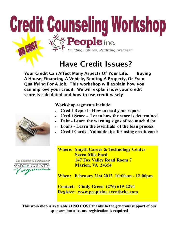 Have Credit Issues? Your Credit Can Affect Many Aspects Of Your Life.     Buying A House, Financing A Vehicle, Renting A P...