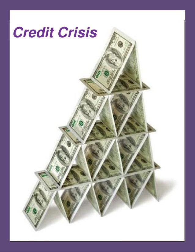 essays on credit crunch
