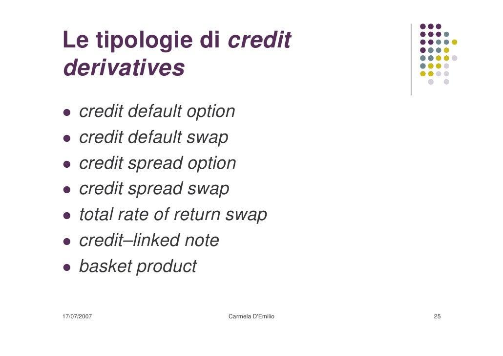 Stock Options And Credit Default Swaps ― Credit default option