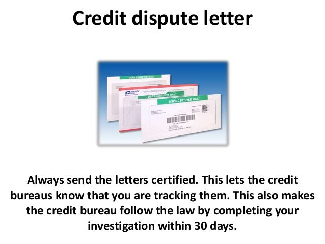 credit repair letters credit dispute letter and credit repair tips 21245