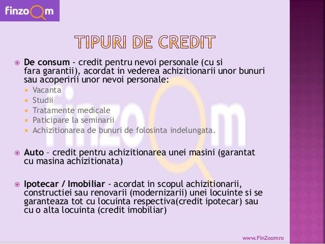 Finzoom credite nevoi personale