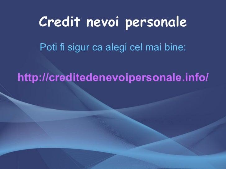 Refinantare bcr credit nevoi personale