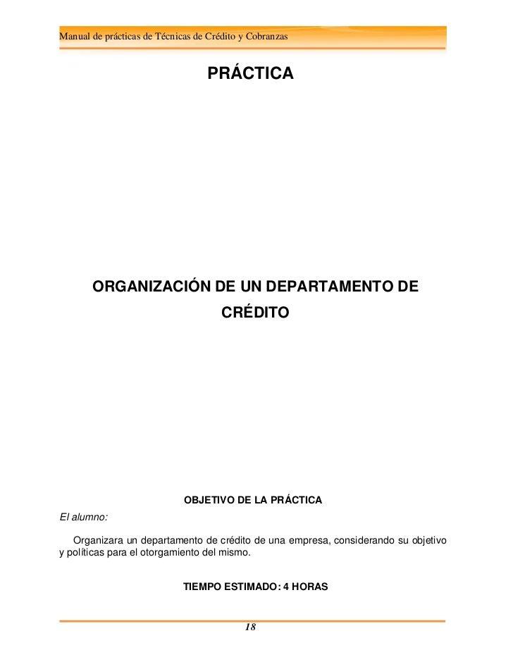 Credito y cobranzas manual de practicas 1232918186291331 1 for Que es practica de oficina