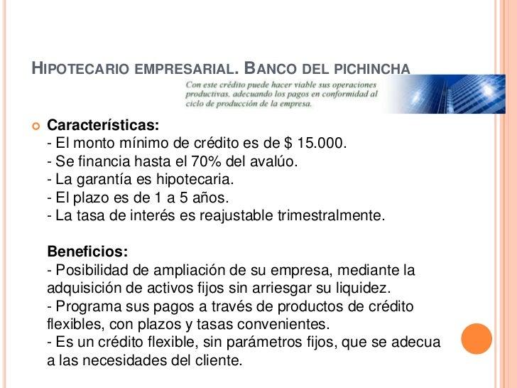 Requisitos para sacar credito en banco pichincha - Que necesito para pedir una hipoteca ...