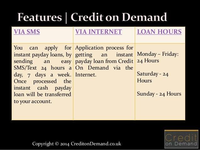 Trend som instant text payday loans och