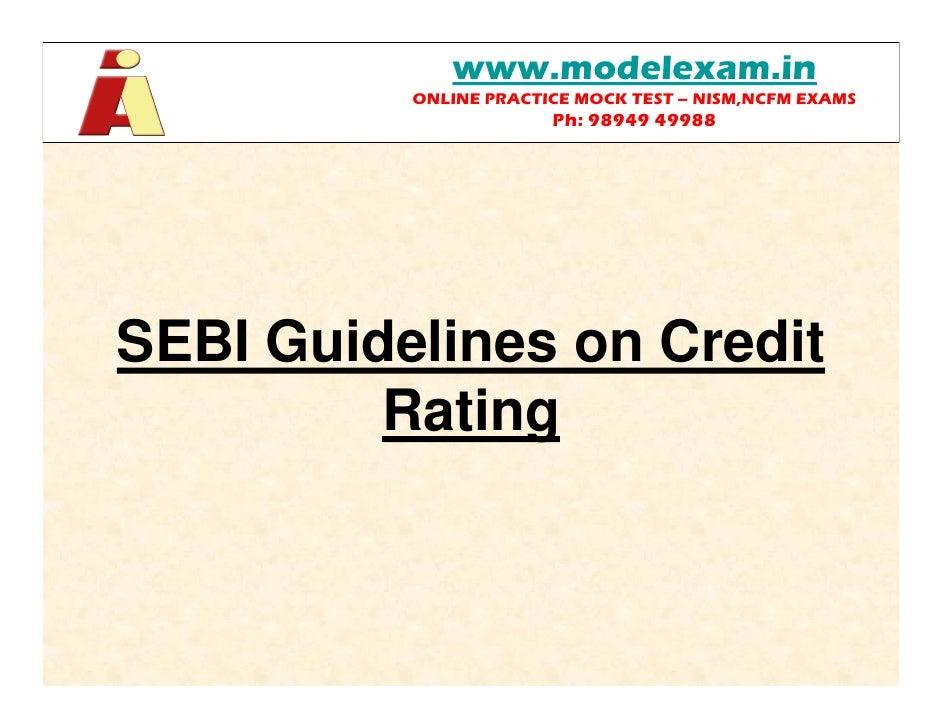 guidelines on credit risk management rating models and validation