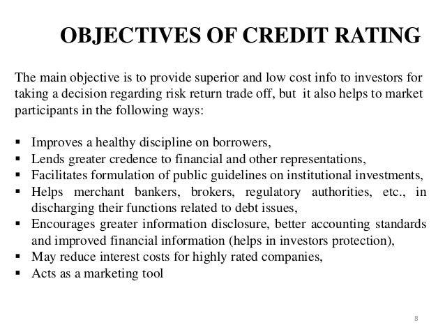 sebi guidelines regarding credit rating
