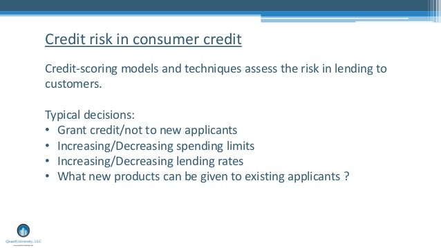 machine learning credit risk pdf