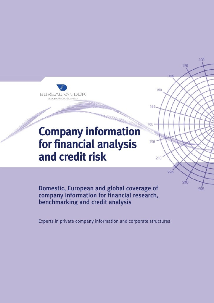 Company information for financial analysis and credit risk  Domestic, European and global coverage of company information ...