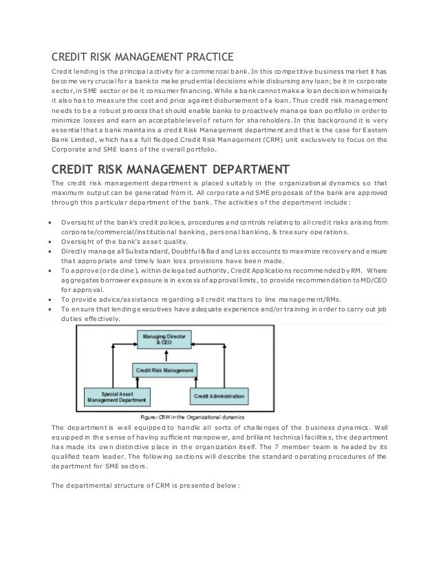 credit risk management in uttara bank Creditriskmonitor is a financial risk analysis and news service for credit,  we  also offer solutions that can help ease private company financial risk assessment   uttara finance and investments limited is a non-banking financial company.