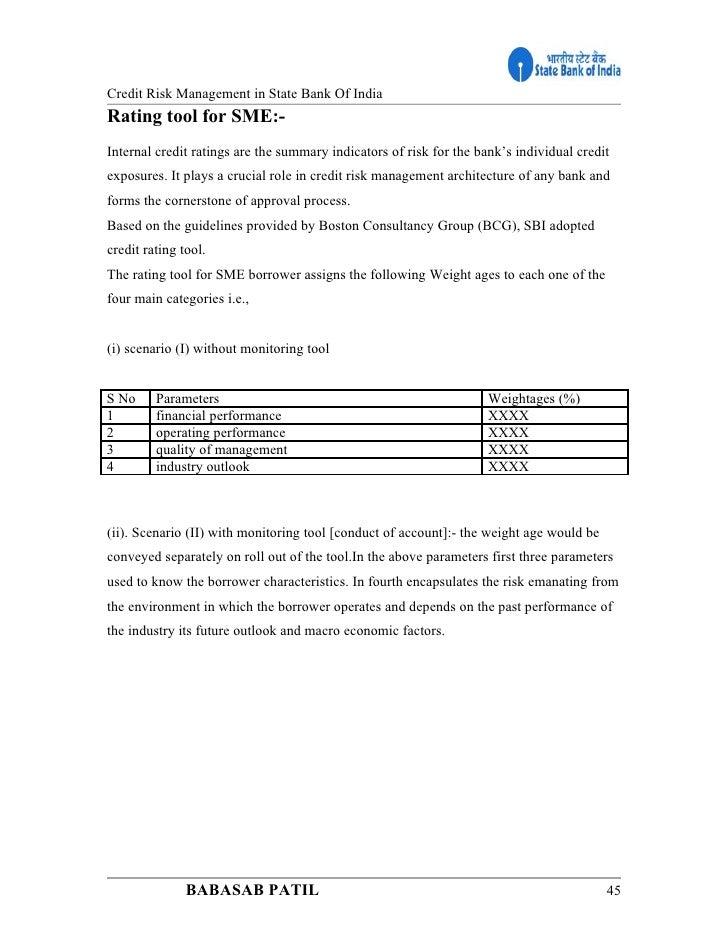 SBI Credit Risk Fund (G)