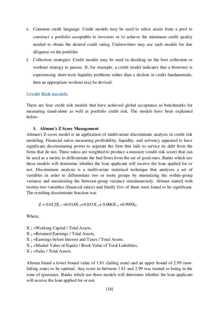 Credit Risk Mgt. Staff Accountant Job Description ...