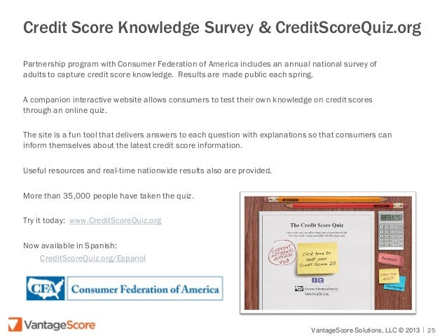 Credit Scores: What's Behind the Number?