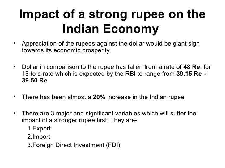 Impact of global recession on indian