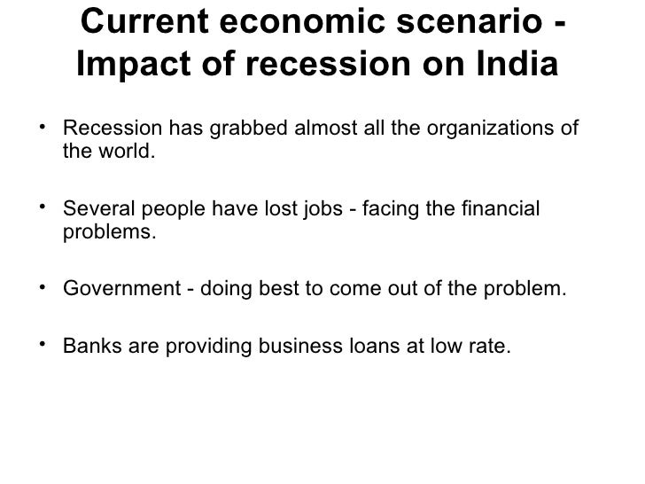 Global Financial Crisis and Its Impact on India's Growth