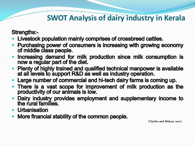 an analysis of the dairy industry Analyzers in the dairy industry include quantification of fat, protein, lactose, moisture, total solids and more as well as confirmation of identity/quality and measure-  the dual concept allows the analysis of any liquid milk and dairy product in an optimal way either homogeni zed or.